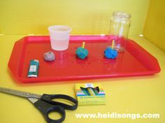 Here is a fun little experiment with candles and some lessons about fire that primary children will find truly fascinating!
