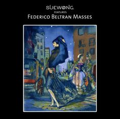 FEDERICO BELTRAN-MASSES was renowned as a master of colour and the psychological #portrait, as well as a painter of seductive images of women. The painter's Spanish heritage would influence his oeuvre deeply. His paintings are rich with musical and poetic references influenced by 'Greek mythology, orphic mysteries and fantasies.  #teamsuewong #suewong #art #FedericoBeltranMasses #painter #inspiration