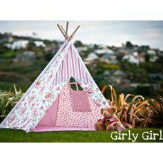 Kids Teepee | Teepees for Kids | Kids Play Tent | Childrens Tee Pee Tents