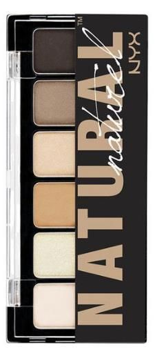 NYX 'Natural Eye' Eyeshadow Palette - just bought this and love it! Dupe for Stila pallet.
