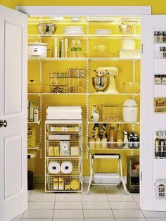 kitchen-pantry-shelves  Getting organized!!