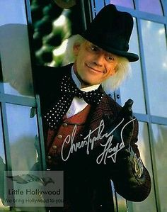 Christopher Lloyd Back to the Future Signed Photo Certified Authentic JSA Doc Brown, Back To The Future, Movie Film, Movies, Bring It On, Punk, Hollywood, Gift Guide, Collection