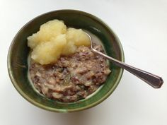 Grain and seed porridge. It might look weird, but this porridge has a lovely nutty flavour and a great texture. Magnus Nilsson, Breakfast Bowls, Sunday Brunch, Up Girl, Family Meals, Mashed Potatoes, Grains, Beef, Edinburgh
