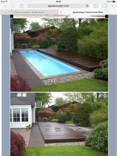 Having a pool sounds awesome especially if you are working with the best backyard pool landscaping ideas there is. How you design a proper backyard with a pool matters. Small Swimming Pools, Small Backyard Pools, Backyard Pool Designs, Swimming Pools Backyard, Swimming Pool Designs, Backyard Patio, Backyard Landscaping, Small Backyards, Landscaping Ideas
