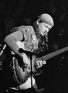 Jaco Pastorius.  In my opinion the best there ever was.