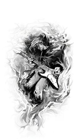 kurt cobain tattoos - ค้นหาด้วย Google
