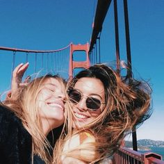 Bff in San Francisco Go Best Friend, Best Friend Goals, Best Friends Forever, Best Friend Pictures, Friend Photos, Girls Tumblrs, Good Vibe, Gal Pal, Partners In Crime