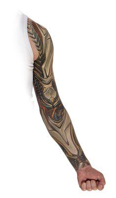 Aerobot by Markus Lehard. #ink #tattoo #tatuagem