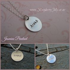 Jasmine Pendant - Classic and elegant, this Jasmine Pendant is a fine silver circle pendant. Perfect for gifts, or as a bridesmaid gift added with a pearl or birthstone in your wedding colours. You also get to choose the chain you'd like with it. Fine silver is99.9% pure silver. It is very good for sensitive skin and istarnish …