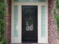 Wrought Iron Wine Cellar Door Doors Pinterest