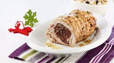 Συνταγή: Γεµιστό στήθος γαλοπούλας ρολό µε ανατολίτικο πιλάφι (Σταμούλου) « Συνταγές με κέφι Turkey Breast, Sliders, Baked Potato, Banana Bread, Muffin, Breakfast, Ethnic Recipes, Desserts, Oriental
