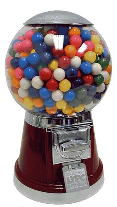 Keep the Gumballs Coming with this retro junior gumball machine. #paypalit