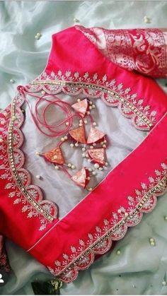 New Saree Blouse Designs, Cutwork Blouse Designs, Simple Blouse Designs, Stylish Blouse Design, Bridal Blouse Designs, Designer Blouse Patterns, Poses, Maggam Works, Sarees