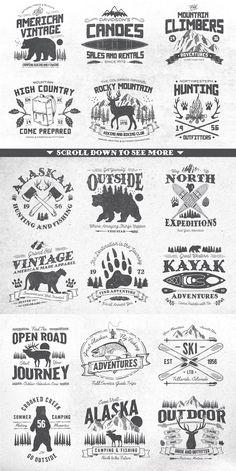 Western Logo, North Western, Logo Inspiration, Logo Montagne, 3d Laser Printer, Vintage Labels, Vintage Logos, Vintage Logo Design, Retro Logos