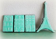 Paris cookies   http://www.flickr.com/photos/mint_lemonade/with/10818125285/