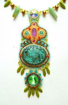 Beautiful jewelry by Ksenia Burzalova   Beads Magic#more-6210
