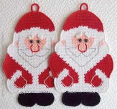 039 Santa Claus, ... by LittleOwlsHut | Crocheting Pattern - Looking for your next project? You're going to love 039 Santa Claus, Father Christmas Decor by designer LittleOwlsHut. - via @Craftsy