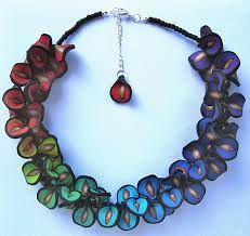 Image result for polymer clay necklaces
