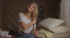 "Bridgette Wilson with suspenders in ""Billy Madison"""