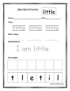 Sight Word Practice Bundle (Sets 1, 2, & 3) (77 sight words) Great for MORNING WORK, HOMEWORK, LITERACY CENTERS, DAILY 5 WORD WORK, and much more.  $