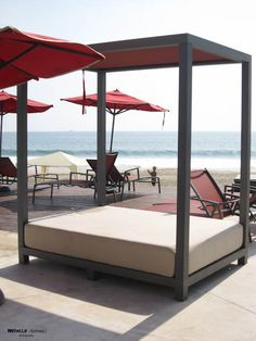 OutDoor Bed Lounger would be great for UTom's Lake Home