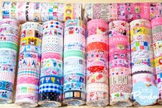 Deco Tape Kawaii Cute 1 set 10 rolls Random  by DolcePandaShop, $7.50