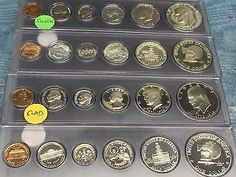 US Mint Sets Uncirculated Lot of 2011-1965 IKE/'s,SBA,SAC,Kennedy/'s All in gov pk