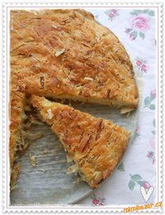 Kapustník - koláč z kyslej kapusty - zelí  RYCHLOVKA