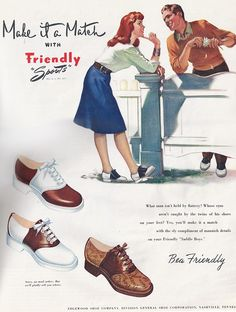 brown saddle shoes - OMGosh...I LOVE saddle shoes.  Must have been all those years spent cheerleading in them!