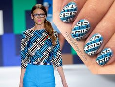 Manicure Muse: Milly Spring '12 - Miss Ladyfinger