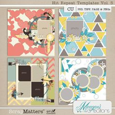 Hit Repeat Templates Volume 5 by Meagan's Creations $3.99