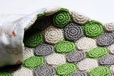 Reversible Unisex Blanket crochet pattern - Allcrochetpatterns.net