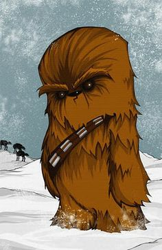 Super Punch: Cute Chewbacca and Captain America illustrations (link roundup)