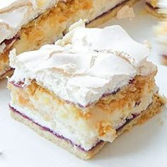 Pani Walewska (Pychotka) Cake Cookies, Vanilla Cake, Sweet Treats, Deserts, Dessert Recipes, Cooking Recipes, Yummy Food, Baking, Poland