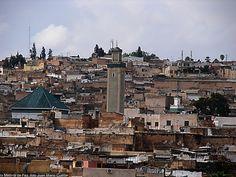 Vez Marruecos una ciudad con Luz