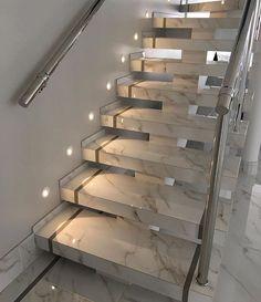 97 Most Popular Modern House Stairs Design Models 34 Stairs Ideas Design House M… Dream House Interior, Luxury Homes Dream Houses, Home Interior Design, Home Stairs Design, Dream Home Design, House Front Design, Modern House Design, Modern Stairs Design, Modern Houses