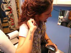 I want - Marathon tattoo