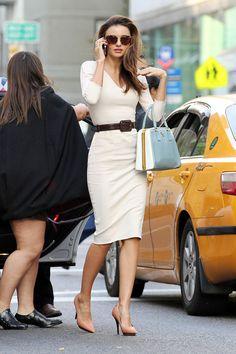 Miranda Kerr in NYC | Tom & Lorenzo