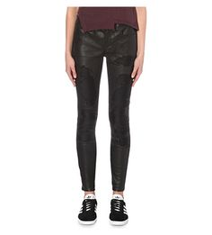 RTA Dorian Leather Trousers. #rta #cloth #trousers