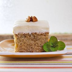Banana Cake with Cream Cheese Frosting – the Egg Farm