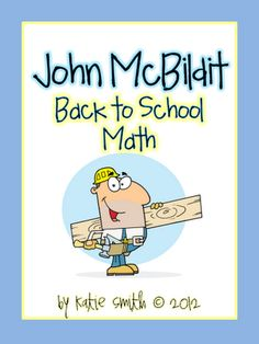 I Want to be a Super Teacher: Back to School Math Freebie - John McBildit
