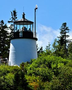 Maine Lighthouses and Beyond: Owl's Head Lighthouse - July 2013.  To enjoy my blog on lighthouses, flowers, and wildlife, tap on the photo.
