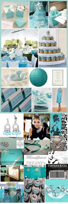 Something Blue Tiffany / Paris Themed party