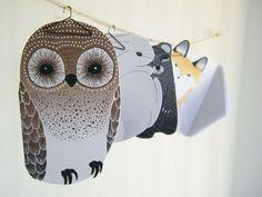 My Owl Barn: 'Animals in Teacups' Cards