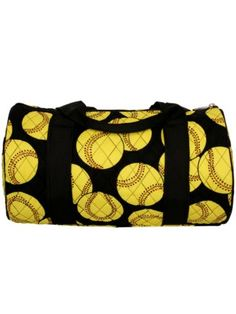 "14"" Quilted Softball Duffle Bag"