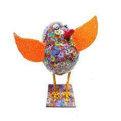 home decor bird by MIRAKRIS on Etsy