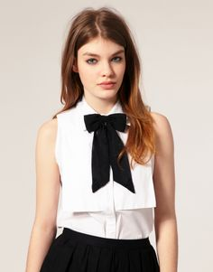 I would add this bow to every blouse I own.