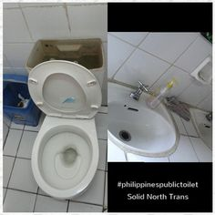 Philippines Public Toilet Chronicles: Public Toilet: Solid North Transportation in Cubao...
