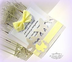 MagicArt / Pokrstiť sa idem dať III. Handmade Invitations, Make Your Own Invitations