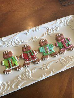 Jolly gingerbread men cookies by Heidijo - Christmas & Winter Cookies - Gingerbread Crafts, Gingerbread Man Cookies, Christmas Sugar Cookies, Gingerbread Men, Christmas Cupcakes, Christmas Gingerbread, Christmas Treats, Christmas Baking, Ginger Man Cookies